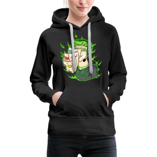 Seelenspiel Grün - Frauen Premium Hoodie