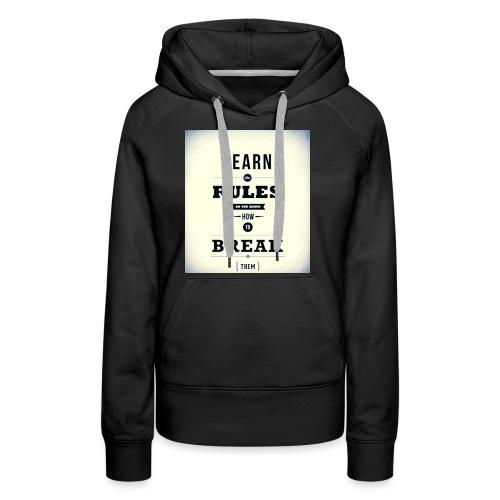 RULES - Vrouwen Premium hoodie