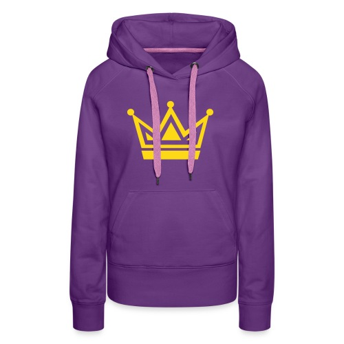 Black Crown - Women's Premium Hoodie