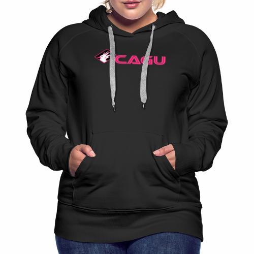 Cagu 13 - Sweat-shirt à capuche Premium pour femmes