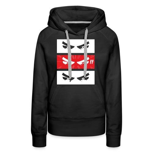 6-EYES - Sweat-shirt à capuche Premium pour femmes