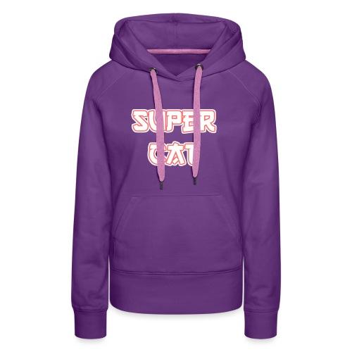 Super Cat - Frauen Premium Hoodie