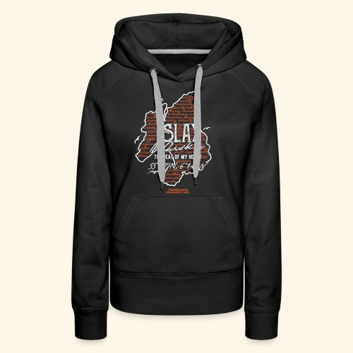 asting Notes Islay Whisky T Shirt Design - Frauen Premium Hoodie
