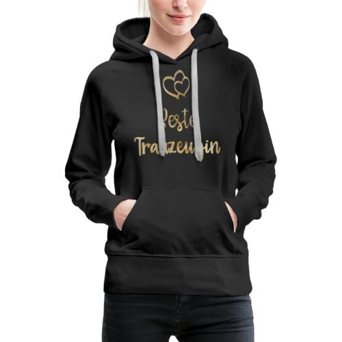 Beste Trauzeugin - Frauen Premium Hoodie