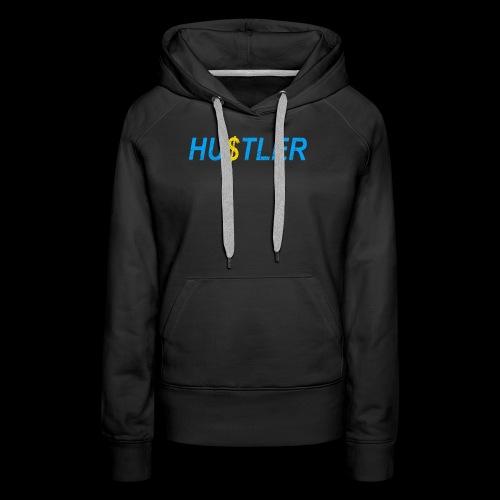 Hustler Used Look - Frauen Premium Hoodie