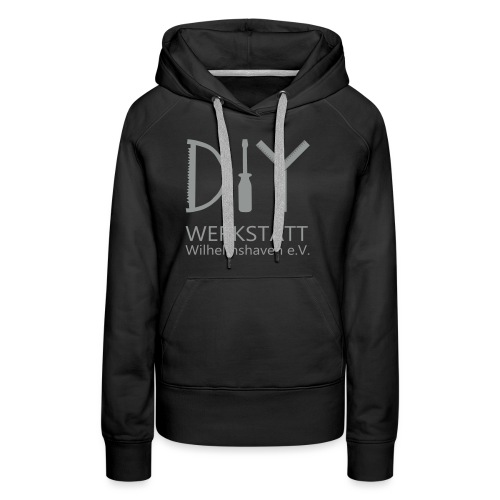DIYWW Logo ohne HG - Frauen Premium Hoodie