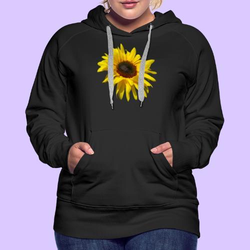 blühende Sonnenblume, Sonnenblumen, Blumen, Blüten - Frauen Premium Hoodie