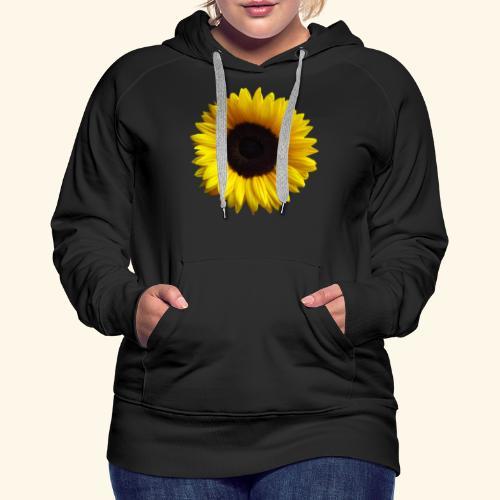 Sonnenblume, Sonnenblumen, Blume, Blüte, floral - Frauen Premium Hoodie
