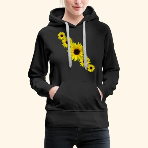 Sonnenblume, Sonnenblumen, Blumen - Frauen Premium Hoodie