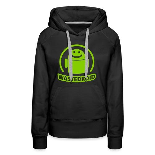 Wastedroid - Frauen Premium Hoodie