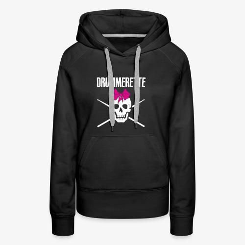 DRUMMERETTE - Frauen Premium Hoodie