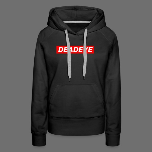 DeadEYE BOXLOGO - Premium hettegenser for kvinner
