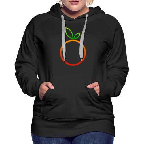 Apfel Apple Pomme Manzana Mela Äpple - Frauen Premium Hoodie