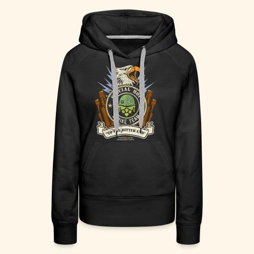 Craft Beer Fan T Shirt Special Hops Strike Team - Frauen Premium Hoodie