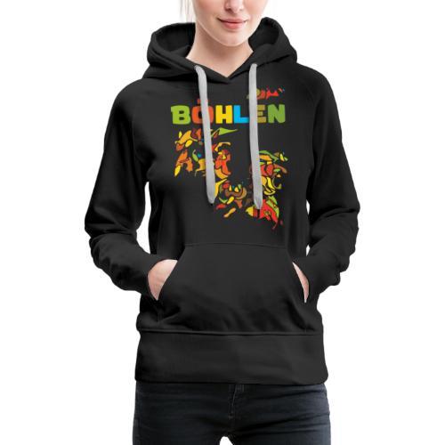 Böhlen - Frauen Premium Hoodie