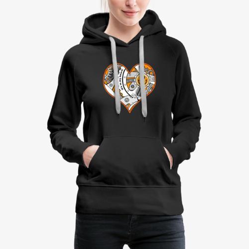 In my heart - Women's Premium Hoodie