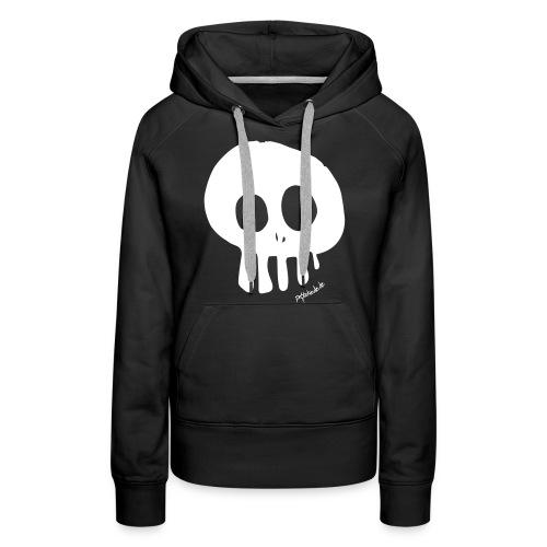 skull_v2 - Frauen Premium Hoodie