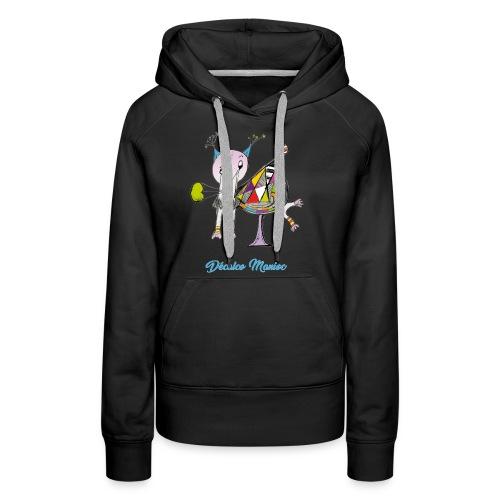 Décalco Manioc - Sweat-shirt à capuche Premium pour femmes