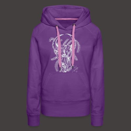 Le Taureau - Sweat-shirt à capuche Premium pour femmes