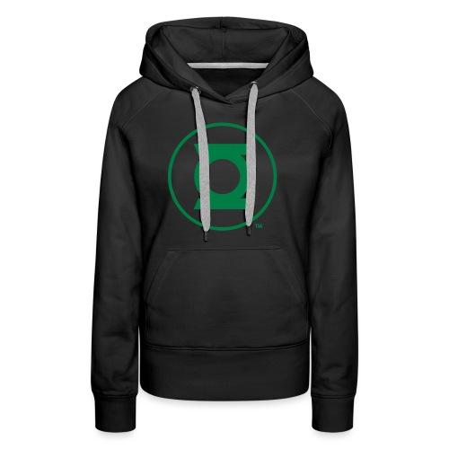 Green Lantern Logo Flex - Frauen Premium Hoodie