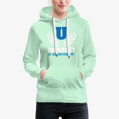 University 5 - Sudadera con capucha premium para mujer