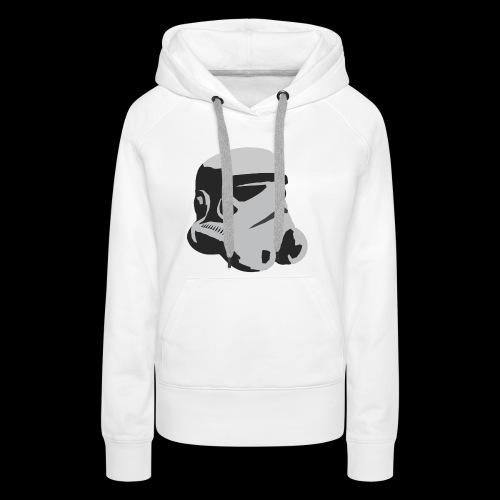 Stormtrooper Helmet - Women's Premium Hoodie