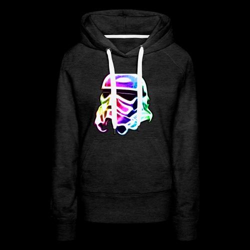 Rainbow Stormtrooper - Women's Premium Hoodie