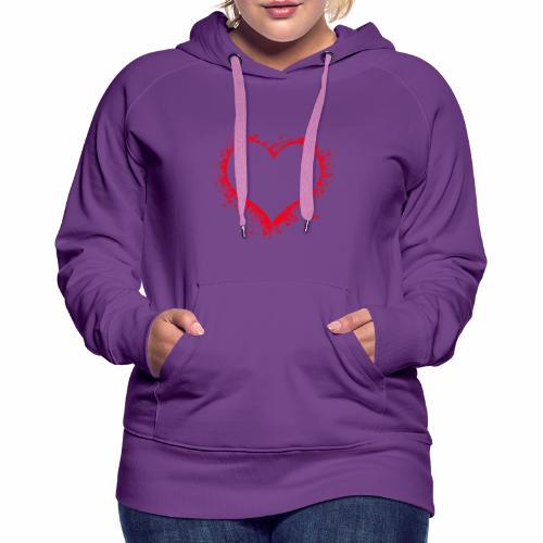 Love you - Frauen Premium Hoodie