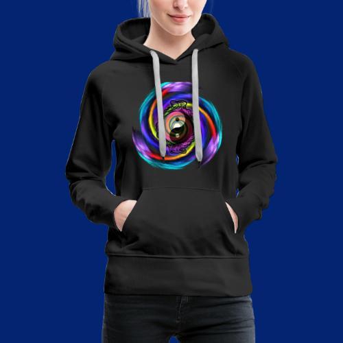 Yin Yang Cobra Spiral - Women's Premium Hoodie