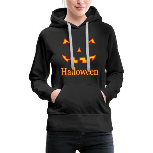 Halloween Gruselmaske - Frauen Premium Hoodie