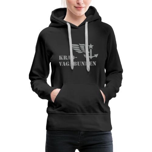 Krad-Vagabunden - Logo + Schriftzug - Frauen Premium Hoodie