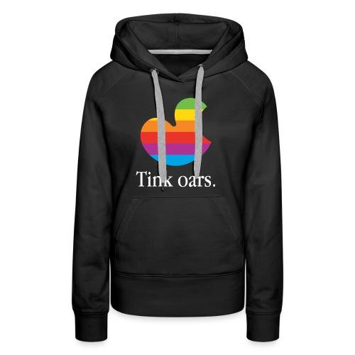 Tink oars - Vrouwen Premium hoodie
