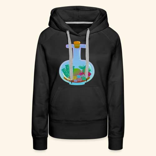 Bottled Succulents - Women's Premium Hoodie