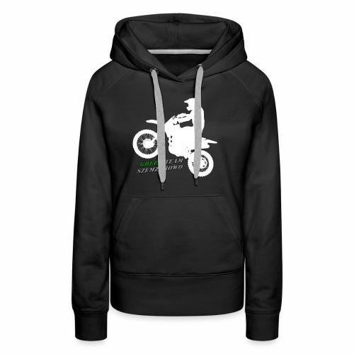 Green Team Szemzdrowo Zapraszam do kupna - Bluza damska Premium z kapturem