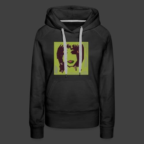 Green brown girl - Women's Premium Hoodie