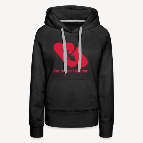 COR AD COR LOQUITUR - Women's Premium Hoodie