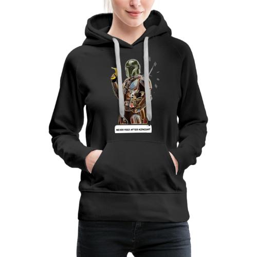Never Feed After Midnight - Women's Premium Hoodie