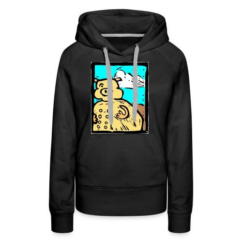 vark color - Vrouwen Premium hoodie