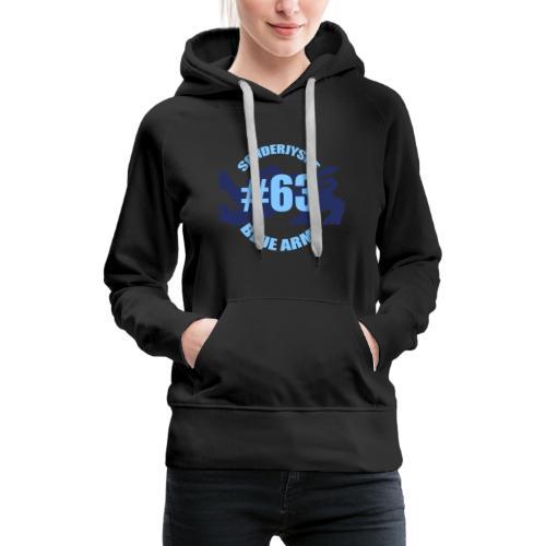 SOENDERJYSKE BLUE ARMY - Dame Premium hættetrøje
