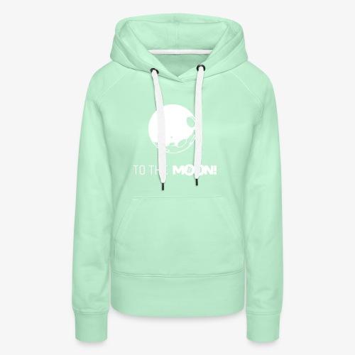 HODL-moonbtc-w - Women's Premium Hoodie