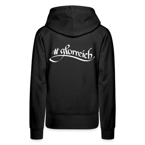 #glorreich³ - Frauen Premium Hoodie