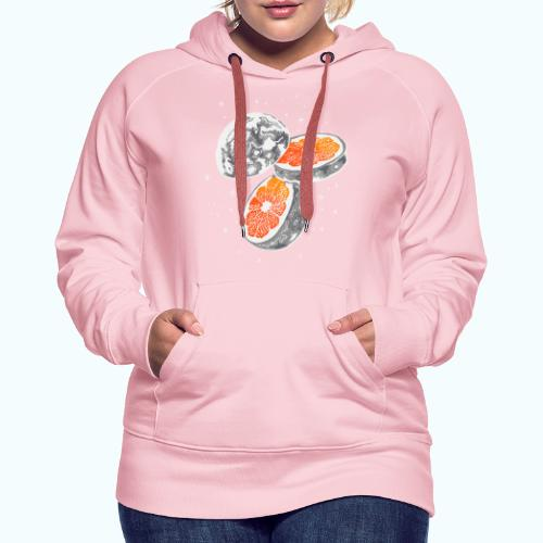Moon orange - Women's Premium Hoodie