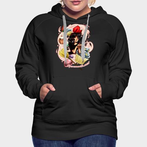 Geneworld - Kiki - Sweat-shirt à capuche Premium pour femmes