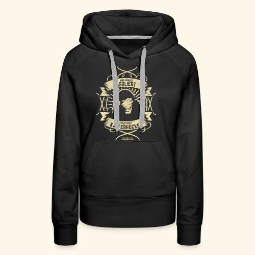 Bauingenieur T Shirt Wärmedämmung | Spruch - Frauen Premium Hoodie