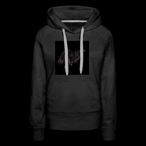 -Logo Qrust- - Sweat-shirt à capuche Premium pour femmes