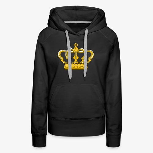 Crown Cross - Frauen Premium Hoodie
