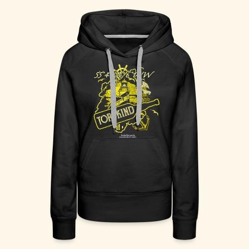 Whisky T Shirt Design Torfkind für Islay Fans - Frauen Premium Hoodie
