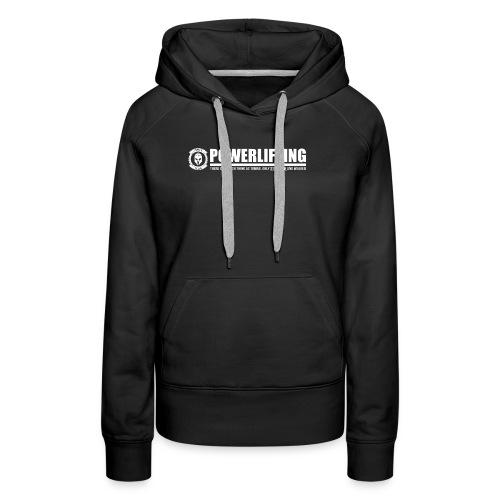 Legion Clothing | Powerlifting - Naisten premium-huppari