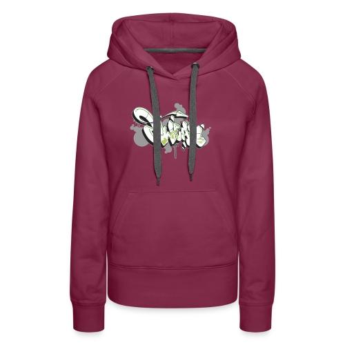 Mesk 2Wear graffiti style 7up ver02 - Dame Premium hættetrøje
