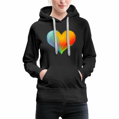 Hart - Vrouwen Premium hoodie